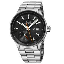 Ball Men's BMW Black Dial Stainless Steel Swiss Automatic Watch PM3010C-SCJ-BK