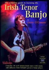 The IRISH TENOR BANJO tutor Book & CD by Gerry O'Connor. From Hobgoblin Music