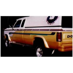 Bushwacker Front/Rear Extend-A-Fender Flare for Dodge D100/D150/D250/D350 81-93