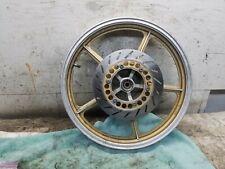 """1986 Yamaha Virago XV700 XV 700 Front Wheel 19"""" Inch Wheel"""