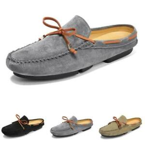 Mens Flats Slingbacks Loafers Shoes Slippers Pumps Driving Moccasins Flats New D