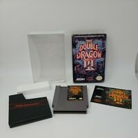 Double Dragon III 3 (Nintendo NES, 1990) Complete CIB Tested Great Condition