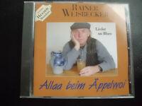 RAINER  WEISBECKER   -   LIEDER   UN   BLUES ,    CD   2008 ,   HESSEN   MUNDART
