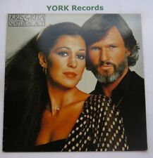 KRIS KRISTOFFERSON & RITA COOLIDGE - Natural Act - Ex LP Record A&M AMLH 64690