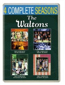 The Waltons Season 5 6 7 8 Series 5-8 Five to Eight New DVD