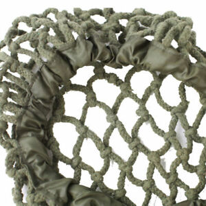 WWII US Army M1 Helmet Cover Net Cotton Camouflage Thick Rope Green 58-61cm