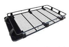TOYOTA PRADO 120 SERIES FULL LENGTH STEEL ROOF RACK OX 4X4 ACCESSORIES