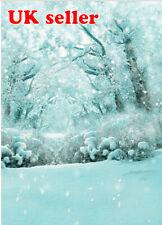 CHRISTMAS SALE FROZEN ELSA MAGIC FOREST BACKDROP VINYL PHOTO PRO 5X7FT 150x220CM