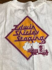 Paul McCartney & Wings 1989 Concert T-Shirt From Edwin Shirley Staging Co. Rare!