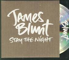 JAMES BLUNT Stay The Night PROMO CD SINGLE free worldwide shipping