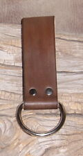 "US Made Heavy Duty Leather Work Belt Hammer Plier Axe Holder ""Free Initials"" G&E"
