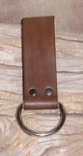 "US Made Heavy Duty Leather Work Belt Hammer Plier Axe Holder ""Free Initials"" G&E"