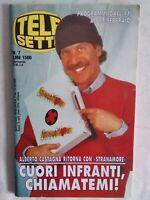 Telesette 7 1996 castagna rossetti proietti vasco rossi capua tomba fecchi