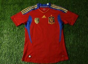 SPAIN TEAM 2011/2012 FOOTBALL SHIRT JERSEY SPECIAL HOME ADIDAS ORIGINAL YOUNG XL