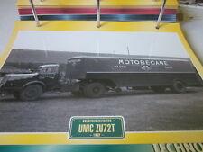 Super Trucks Goldenes Zeitalter Frankreich Unic ZU72T 1952