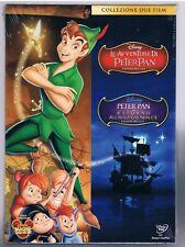 LAS AVENTURAS DE PETER PAN RITORNO LA ISLA CHE NON C'E' COLECCIÓN 2 DVD DISNEY