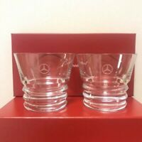 Baccarat × Mercedes Benz Crystal pair Glass  Japan Limited