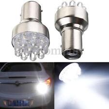 2x 1157 BAY15D P21/5W T25 LED 12 SMD Standlicht Bremslicht Rücklicht Birne Weiß