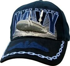 U.S. Navy SUBMARINE SERVICE with Boat Officially Licensed Baseball Cap Hat