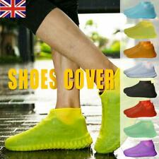 1 Pair Reusable Shoe Covers Waterproof Silicone Rain Shoe Protectors Overshoes
