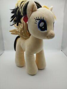 Build A Bear My Little Pony The Movie SONGBIRD SERENADE Heart Plush Gold Pegasus