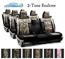 Coverking Custom Seat Covers Neosupreme 3 Row Set - 2-Tone Realtree Camo