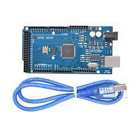 New MEGA 2560 R3 CH340G ATMEGA2560-16AU Board + Free USB Cable For Arduino