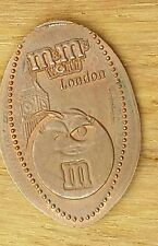 Allongé coin pressed penny m&m collection