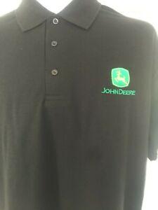 John Deere Logo Uneek Polo Shirt - Present, Gift idea