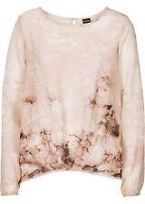 Elegante Bluse mit Aufdruck Gr.36