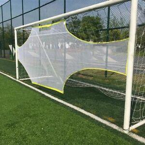 Rebounder Net Target Ball Kickback Tennis Goal Training Game Soccer Goalkeeper
