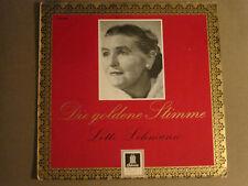 LOTTE LEHMANN DIE GOLDENE STIMME LP ODEON O 83 396 GERMAN CLASSICAL OPERA VG+