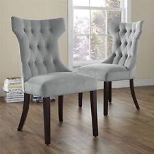 2 Dorel Living Clairborne Side Office Desk Dining Table Game Sofa Accent Chairs