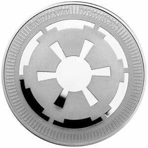 Niue - 2 Dollar 2021 - Star Wars™ - Galaktisches Imperium™ - 1 Oz Silber ST