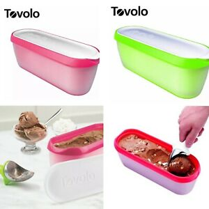 TOVOLO Glide A Scoop Ice Cream Tub Container 1.4L 4 colours BPA free