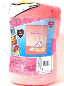 "Franco Manufacturing Co Disney Princess 46"" X 60"" Always Dreaming Plush Throw"