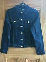 WALLIS  Ladies New Dark Denim Jacket Size 8 - 20