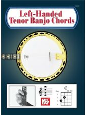 Left-Handed Tenor Banjo Chords Learn to Play Traditional Banjo SHEET MUSIC BOOK