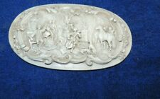 Very nice antique wood hand carved Furniture Medallion