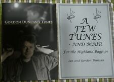 2 Gordon and Ian Duncan Books for HIGHLAND BAGPIPE BOOK PIPES TRAD FOLK