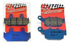 Pastiglie Freno Brembo Ant Post Honda NX 650 Dominator 88/92 07HO3509 + 07HO2711