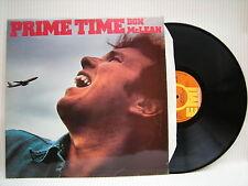 DON MCLEAN-Prime Time, EMI International INS-3011 EX + condizione VINILE LP