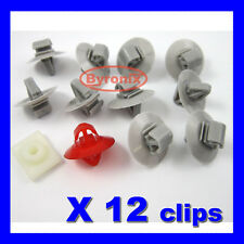 RENAULT Trafic Kangoo Master LOWER SIDE DOOR MOULDING EXTERIOR TRIM STRIP CLIPS
