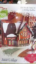 "Dept. 56 Snow Village ""Winter Retreat""  2012 Gift Set   NIB!"