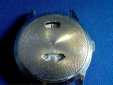 VINTAGE RARE BURTON SALES JUMP HOUR ALUMINUM CASE WATCH RUNS AND STOPS 4U2FIX