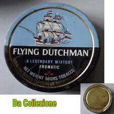 S53X - Scatola di latta FLYING DUTCHMAN AROMATC-  Tabacco per pipa - Vontage