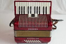 Piano accordion akkordeon  HOHNER STUDENT IV M 32 bass