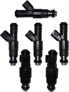 99-04 Jeep Grand Cherokee 4.0L V6 Genuine 4-Hole Bosch Fuel Injectors Set Of 6