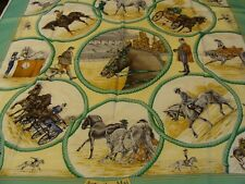 Hermes ,silk scarf , AUTEUIL EN MAI, NEW WITH BOX and ribbon.