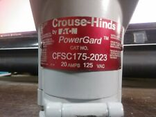 CROUSE-HINDS CFSC175-2023 SEALED RECEPTACLE EXPLOSION-PROOF PRE-OWNED GOOD